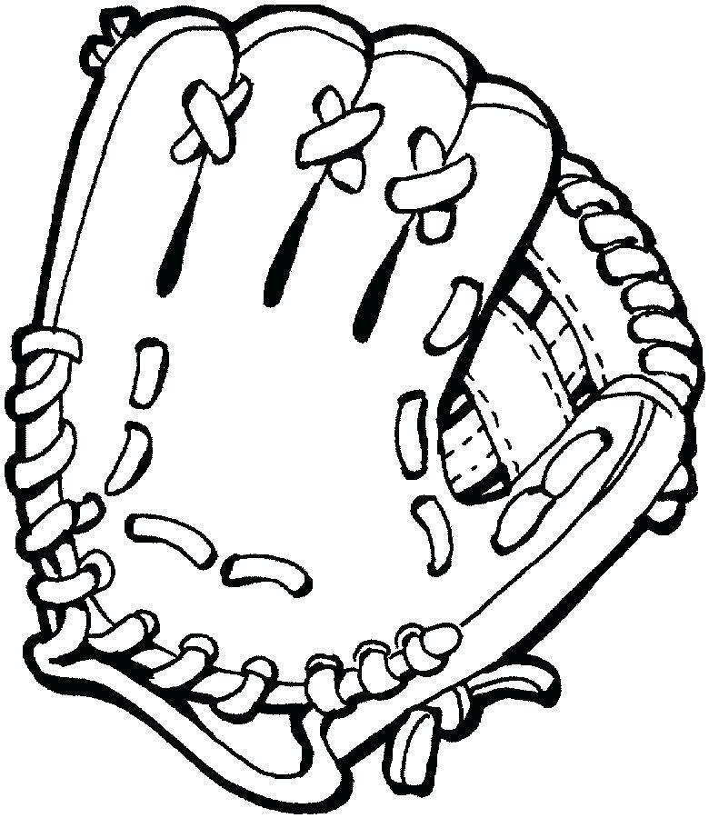 780x900 Baseball Glove Coloring Page Baseball And Glove Coloring Page