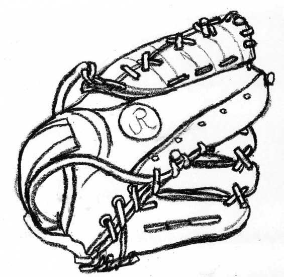 565x550 Baseball Bat And Ball Drawing
