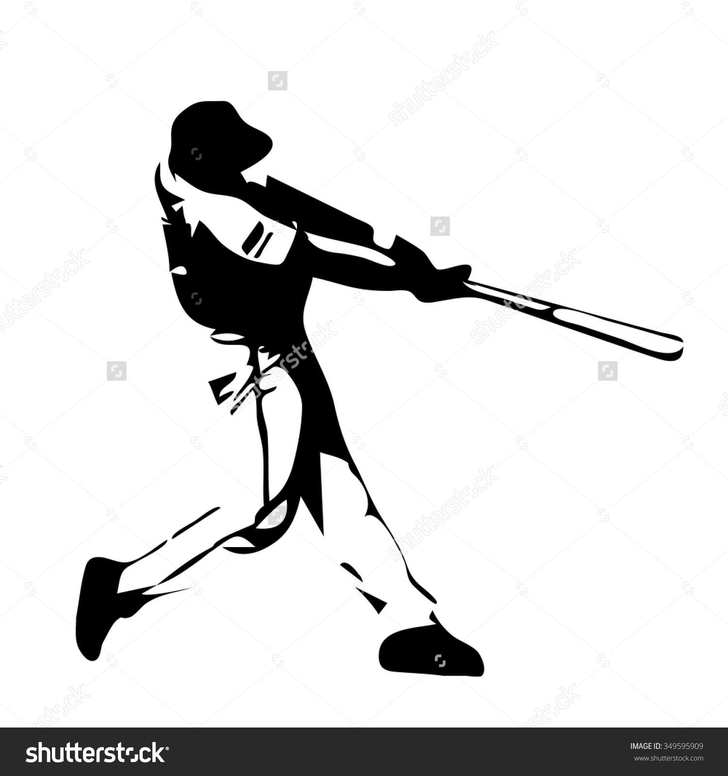 1500x1600 Clip Art Baseball Player Swinging Bat Clip Art