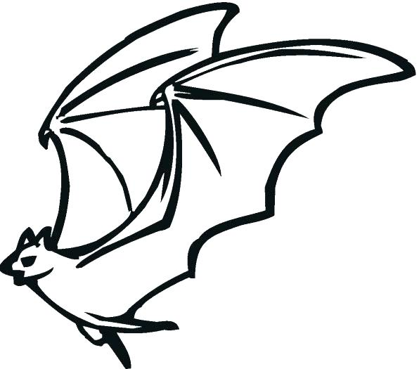 596x525 Coloring Pages Bats Coloring Pages Of Bats For Flying Bat Coloring