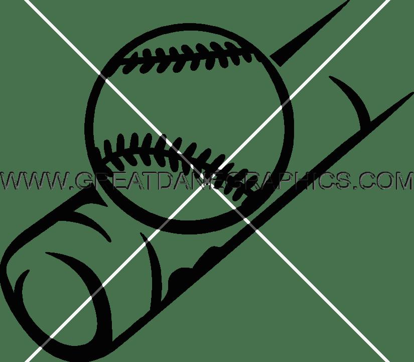 825x721 Baseball 1 Bat Production Ready Artwork For T Shirt Printing