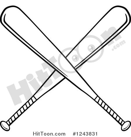 450x470 Baseball Bat Clipart