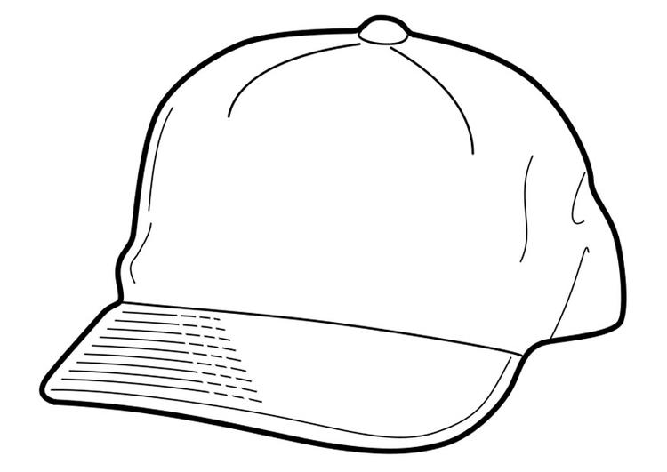 750x531 Coloring Page Cap