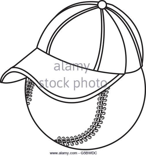 506x540 Baseball Cap Side Vector View Graphic Stock Photos Amp Baseball Cap