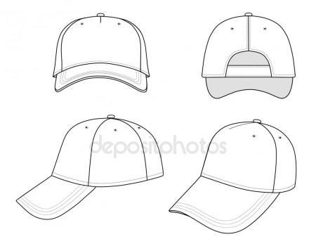 450x357 Baseball Cap Stock Vectors, Royalty Free Baseball Cap