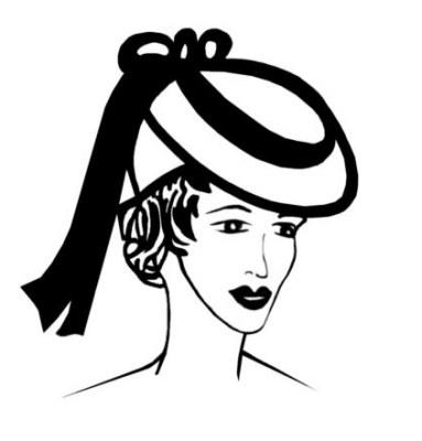 383x400 Drawn Hat Womens Hat