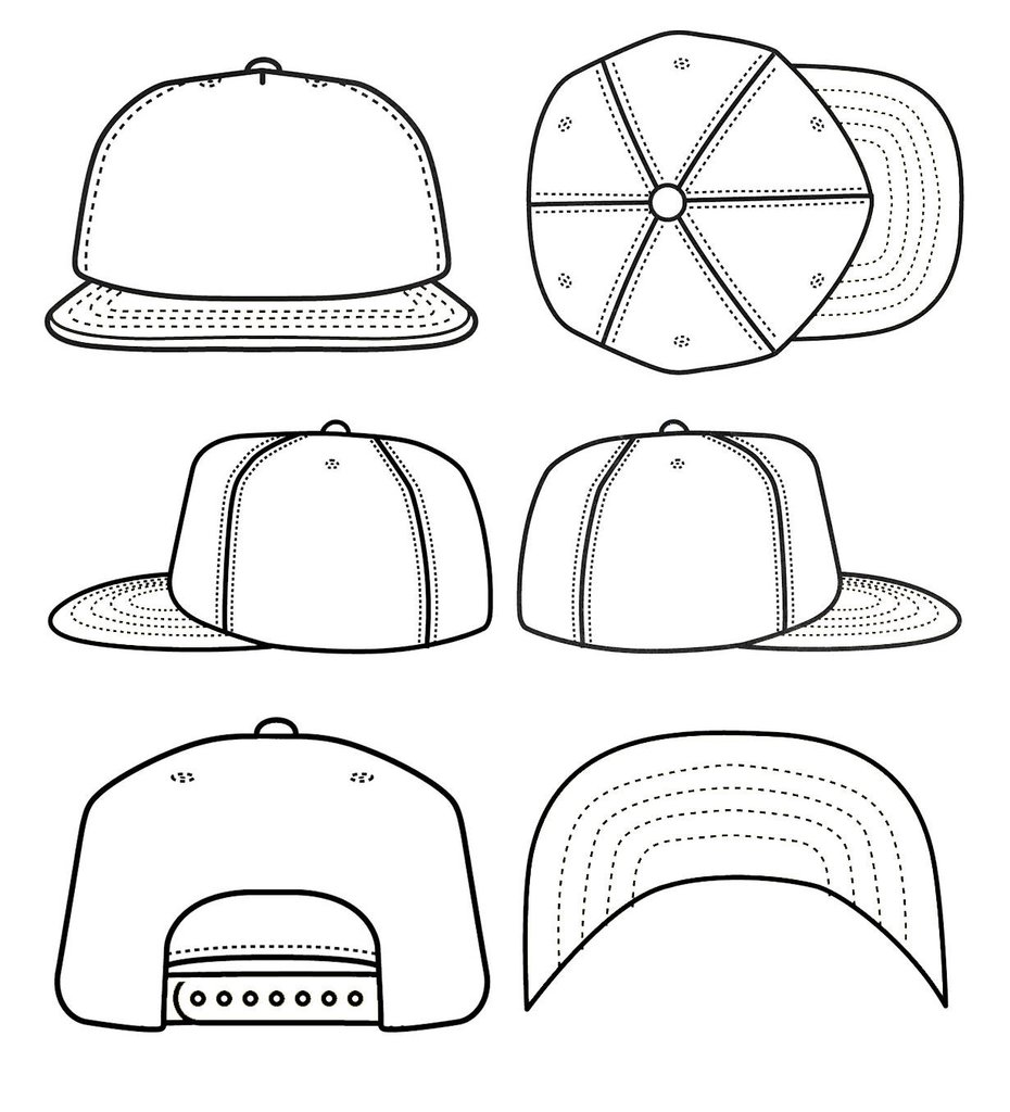 930x1024 Make Your Own Snapback Snoozeheads