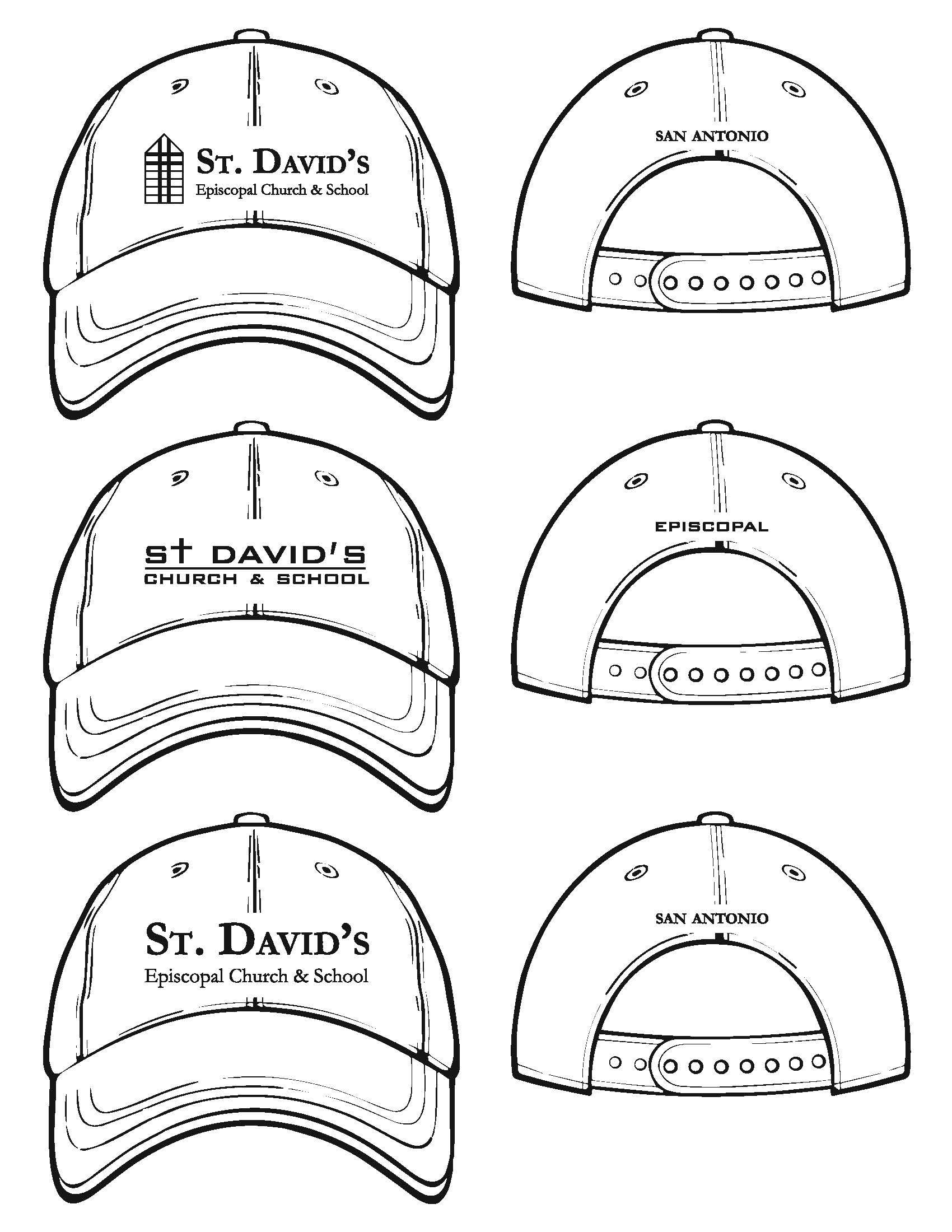 1700x2200 St Davids Baseball Cap 1 @ Venue Creation Resources