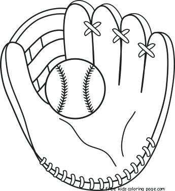 345x377 Coloring Pages Of Baseball Dodgers Catcher Baseball Coloring Page
