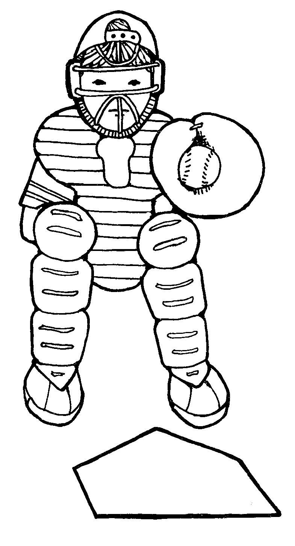 785x1449 Mormon Share } Scout Baseball Catcher