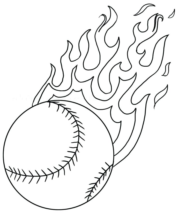 736x879 Baseball Pictures To Color Click The Chicken Little Is A Serious