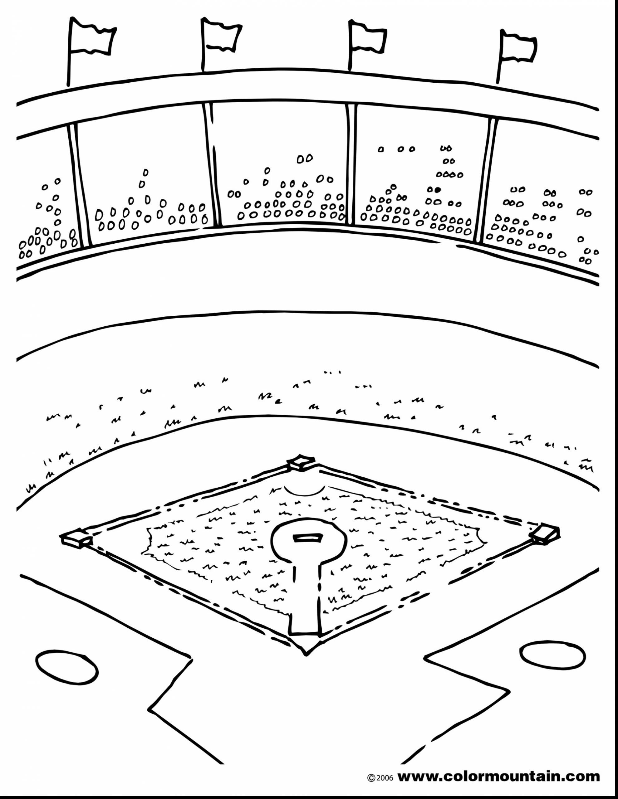 baseball diamond drawing at getdrawings com