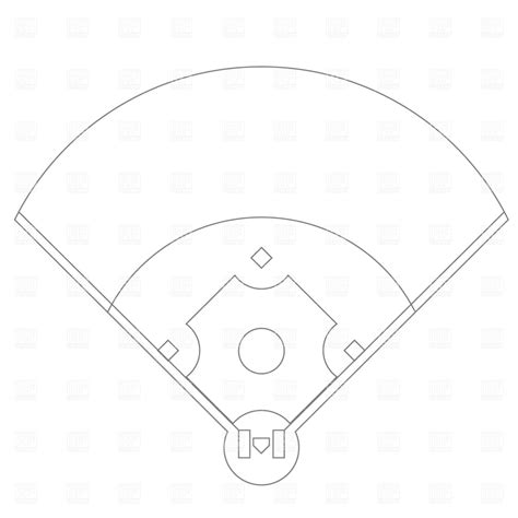 474x474 how to draw a field, step by step, landscapes, landmarks, baseball