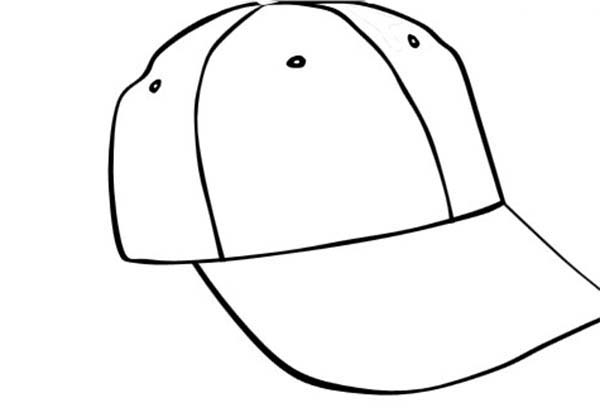 Baseball Hat Drawing At Getdrawings Com Free For Personal Use