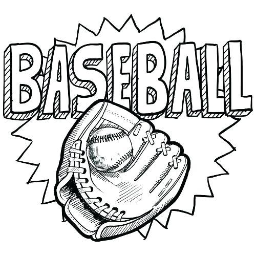 Baseball Mitt Drawing at GetDrawings.com | Free for personal use ...