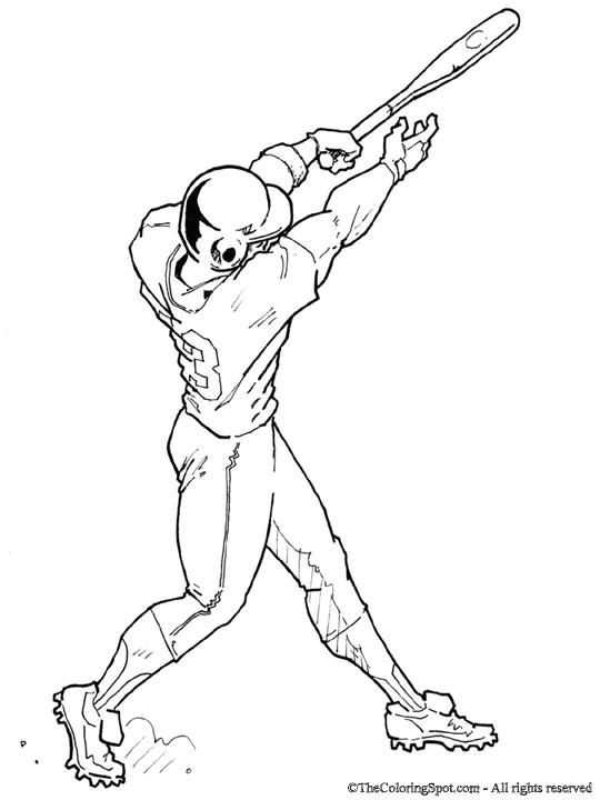 Baseball Player Drawing