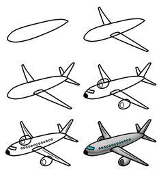 Basic Airplane Drawing