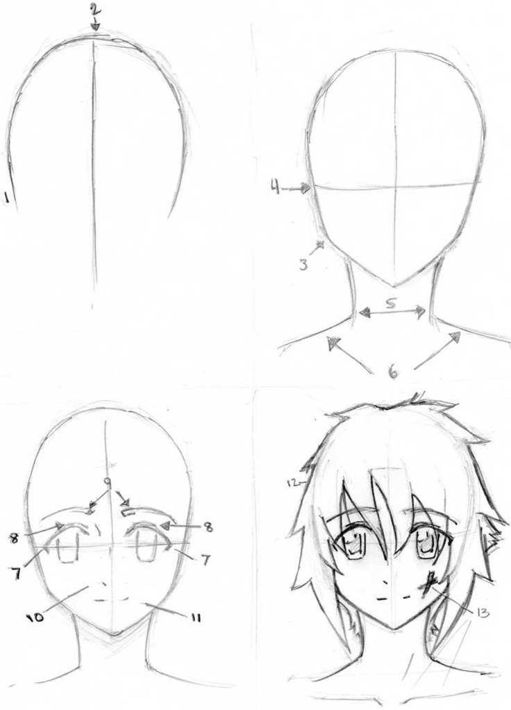 736x1022 Drawn Naruto Basic