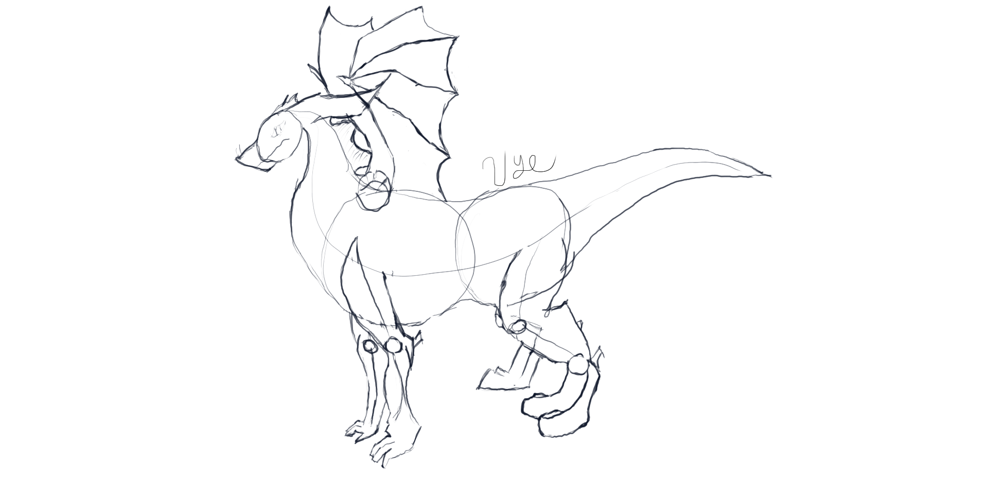1920x972 Dragon How To Draw It In 6 Steps Using Simple Shapes