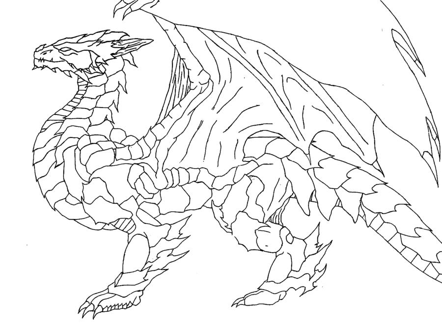 900x660 Basic Dragon By Zeke Wilder