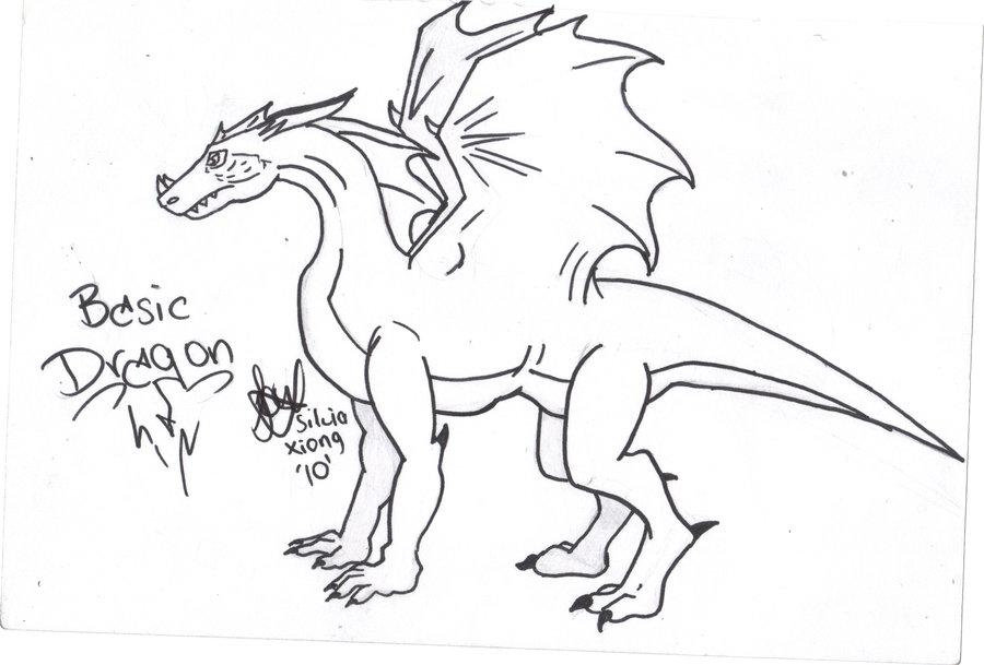 900x609 Basic Dragon By Devilnaruto15