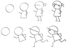 236x173 Free Learn Draw Cartoon Page,free Printable Kids Step By Step Draw