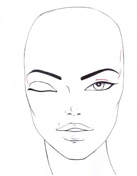 450x579 How To Draw The Eyes I Draw Fashion