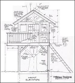 250x276 Treehouse Amp Playhouse Design
