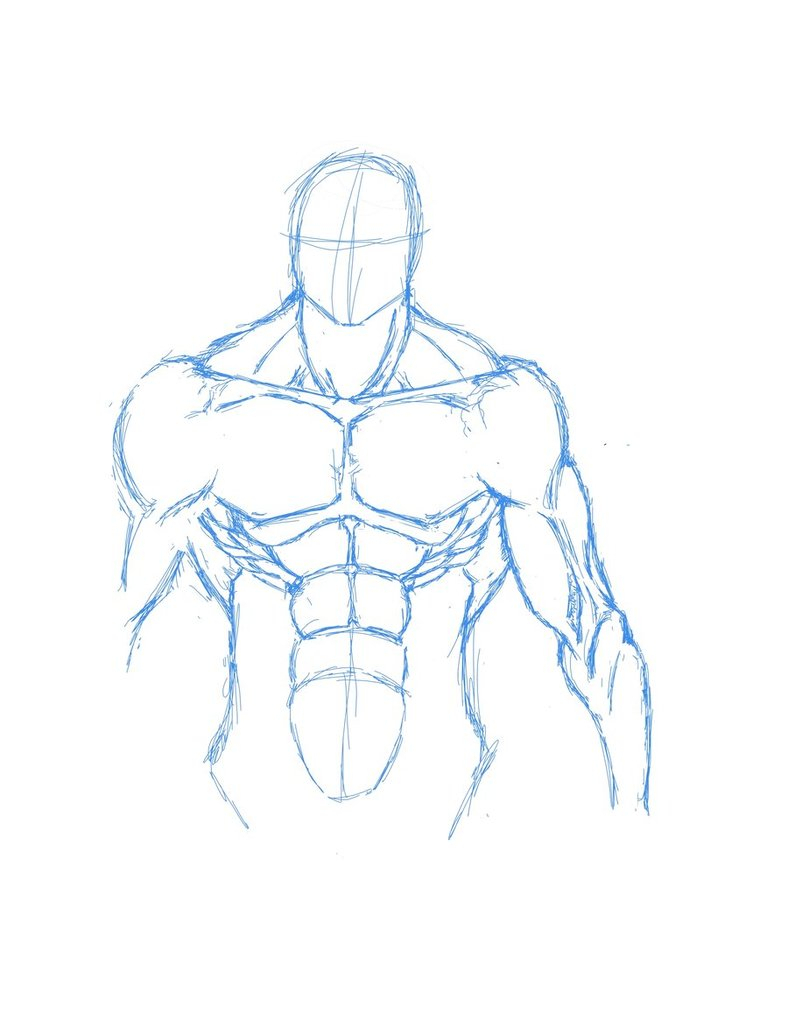 788x1013 Drawing Of Human Body How To Draw A Basic Human Figure Using