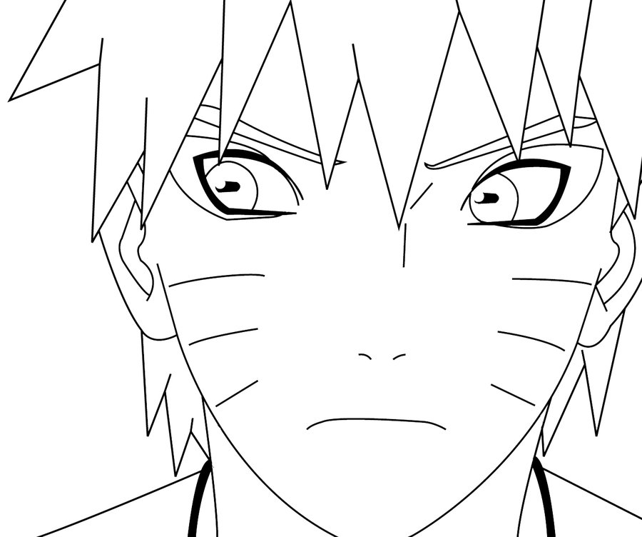900x752 Sage Naruto Line Drawing By Sickchristian
