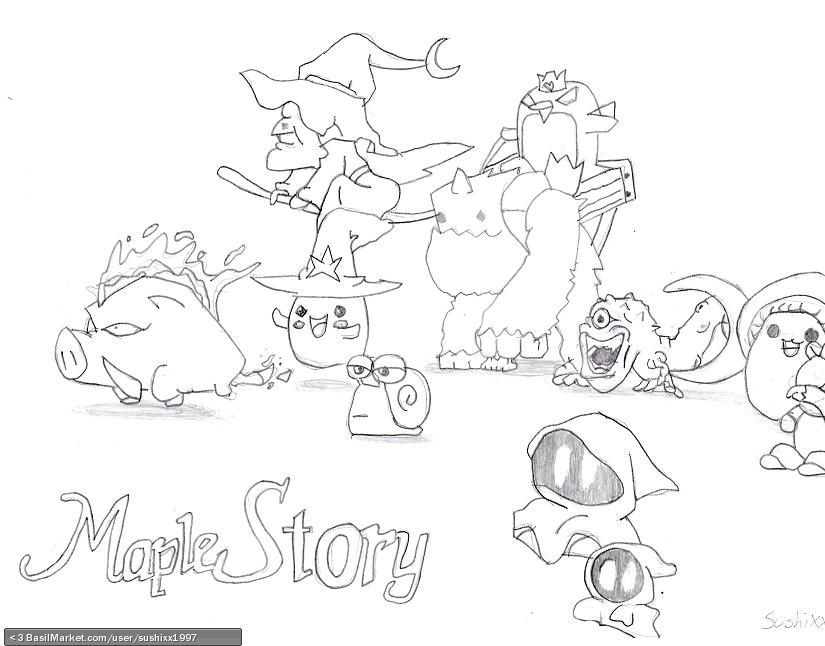 825x646 Maplestory Monsters