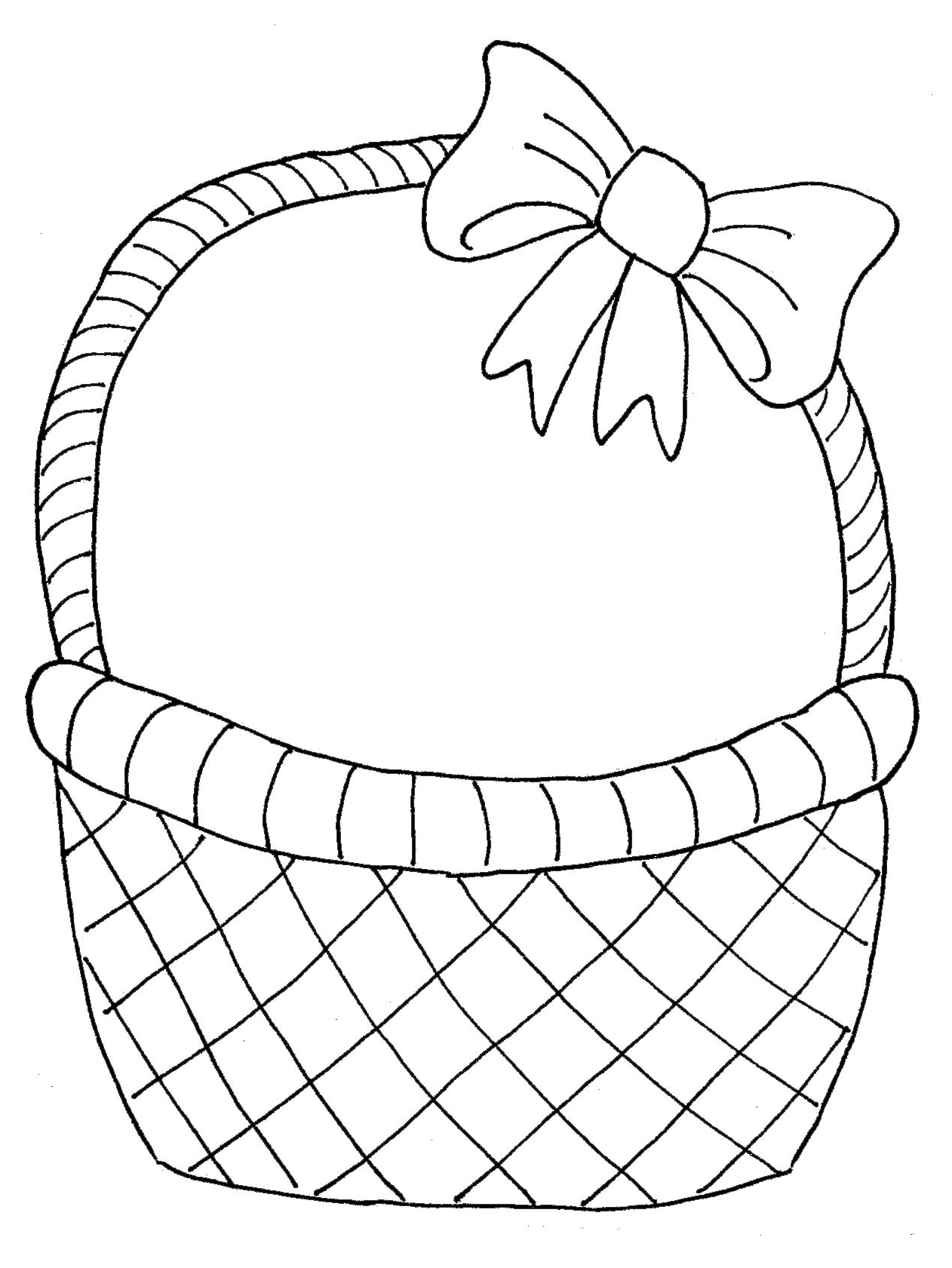 1262x1681 Flower Basket Drawing Step By Step
