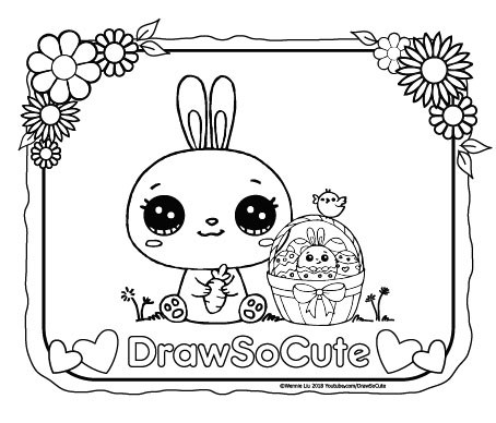 454x388 Draw So Cute Cute Drawing Videos, Coloring Pages And Crafts For Kids