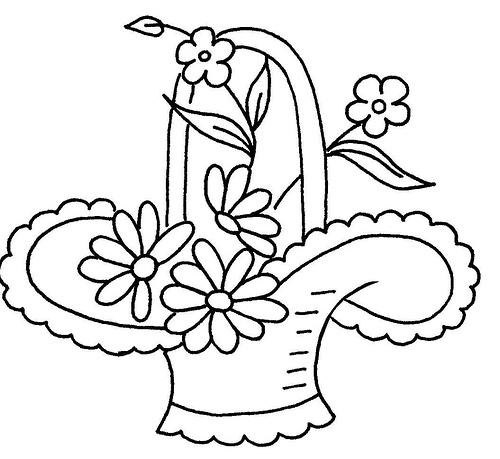 500x459 Flower Basket 12