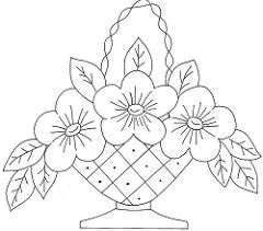240x211 Flower Basket 9 Love To Sew