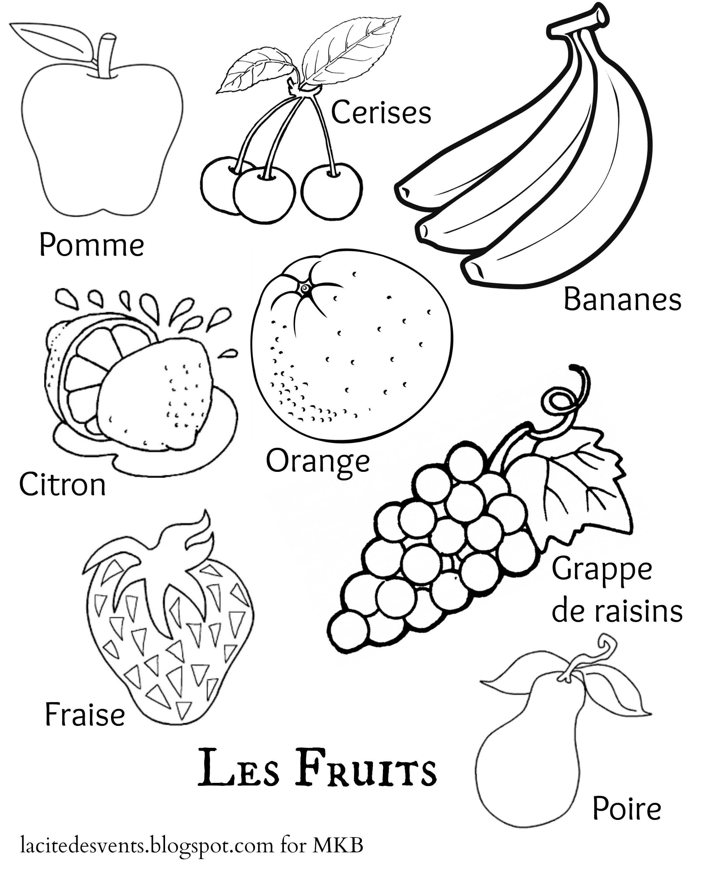 2400x3000 And Fruits Drawing Pictures