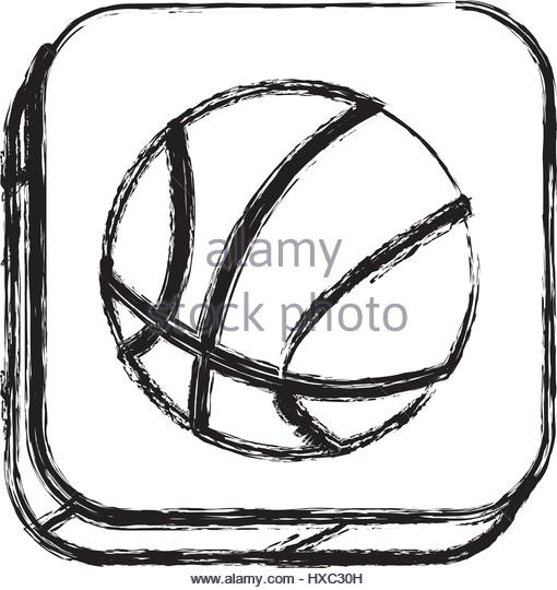 510x540 Basketball Sketch Stock Photos Amp Basketball Sketch Stock Images