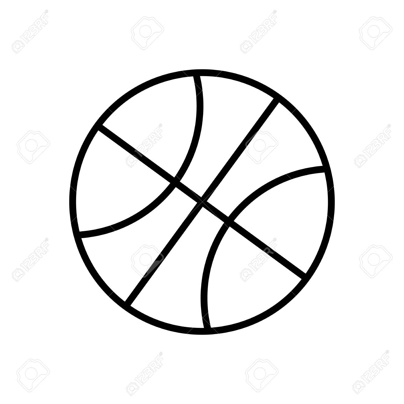 Basketball Ball Drawing at GetDrawings com Free for