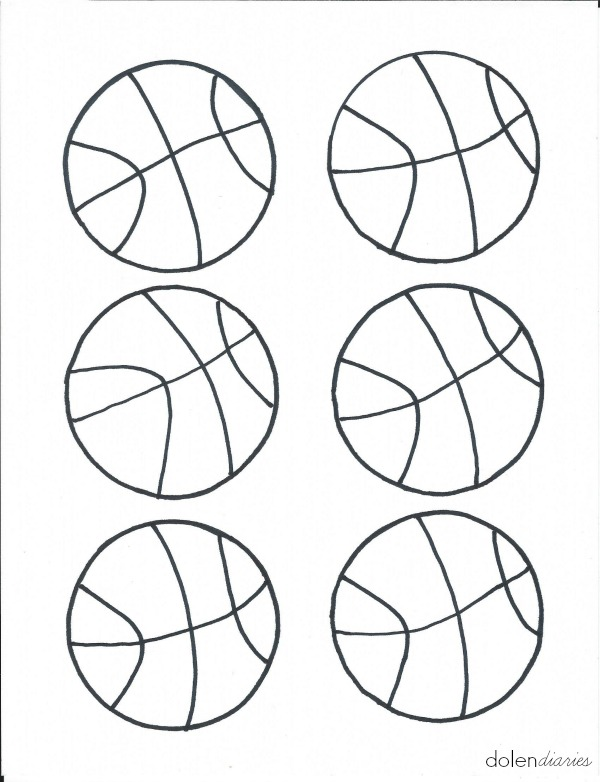 600x782 Q Tip Painting Basketballs Dolen Diaries