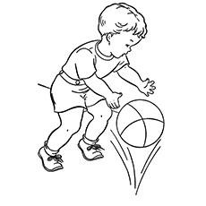 230x230 Top 20 Free Printable Basketball Coloring Pages Online