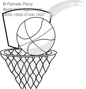 288x300 Cartoon Basketball Clipart Amp Stock Photography Acclaim Images