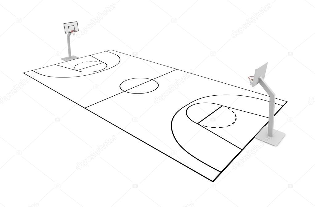 basketball court drawing at getdrawings com free for personal use