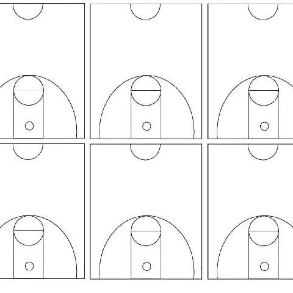 Basketball Court Drawing At Getdrawings