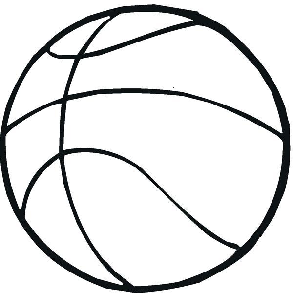 600x600 Basketball Court Coloring Page Pin Basket Basketball Goal 2