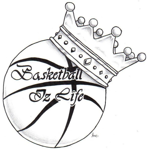 600x603 Basketball Is Life Smeajul On Basketball Drawings