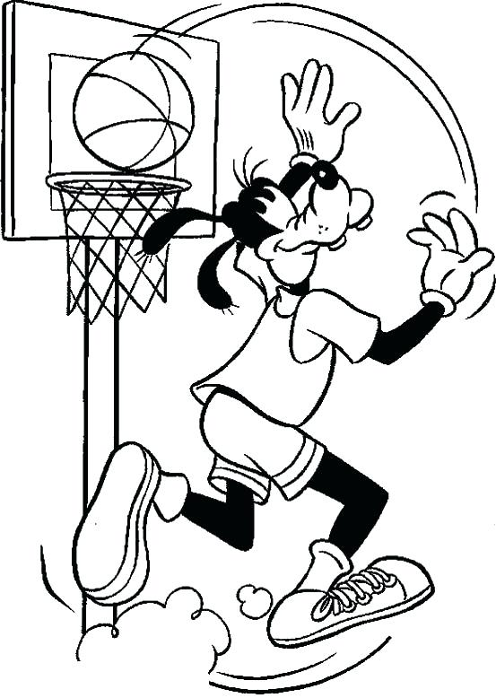 553x778 Nba Players Coloring Pages Basketball Coloring Pages Jersey