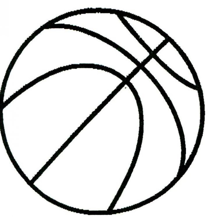 728x743 Basketball Drawings