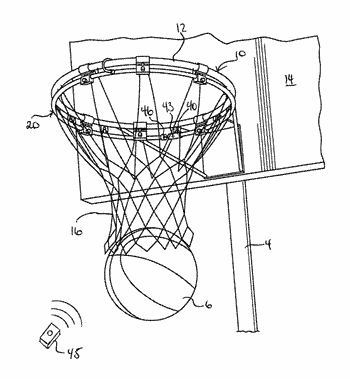 350x379 Basketball Related Patent Applications