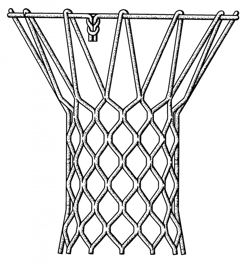 944x1024 How To Draw A Basketball Net Basketball Hoop Drawing