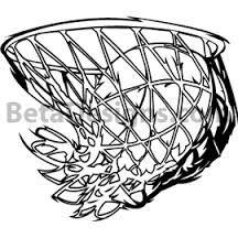 216x216 Basketball Hoop Decals